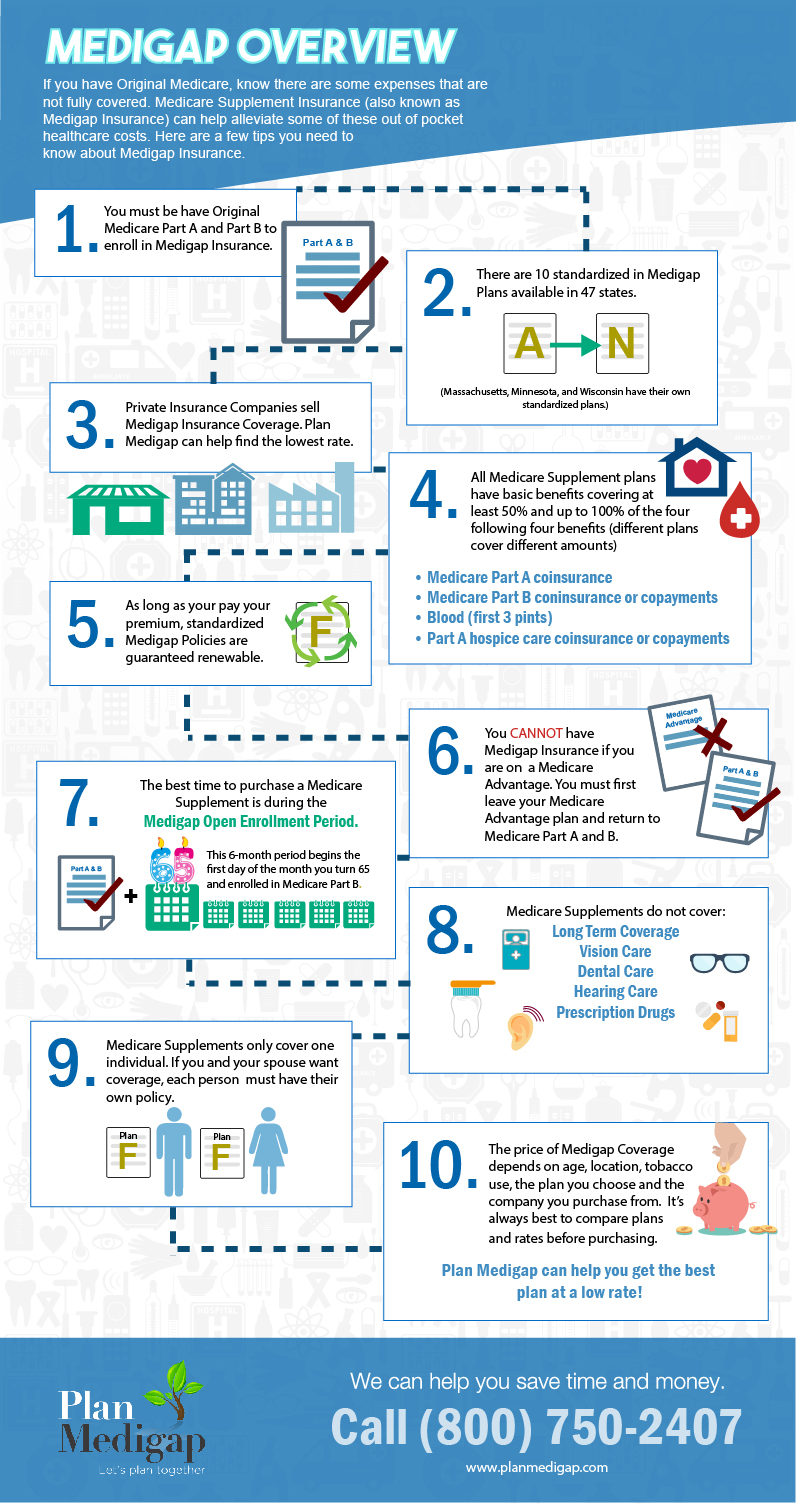 Medigap Overview Infographic